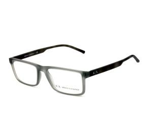 Armani Exchange AX3060 Cinza Fosco 8296 54mm - Óculos de Grau