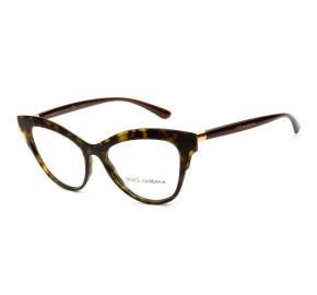 Dolce & Gabbana DG3313 - Turtle 502 54mm - Óculos de Grau