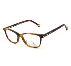 Carolina Herrera VHE848L Turtle 0752 51mm - Óculos de Grau