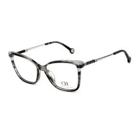 Carolina Herrera VHE850 Cinza Mesclado 06BZ 54mm - Óculos de Grau