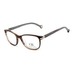 Carolina Herrera VHE774L Marrom/Azul 06YZ 50mm - Óculos de Grau