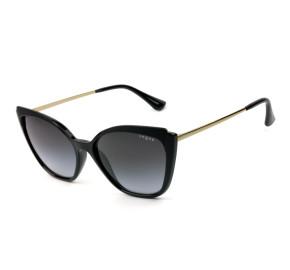 Vogue VO5266-SL Preto/Cinza Degradê W44/11 57mm - Óculos de Sol