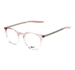Nike 7280 Rosa Degradê Transparente 505 50 mm - Óculos de Grau