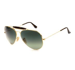 Ray-Ban Aviador Outdoorsman II RB3029 Dourado/G15 181/71 62mm - Óculos de Sol