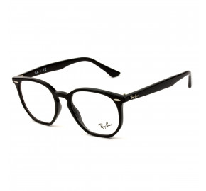 Ray Ban Hexagonal RB7151 Preto 2000 52mm - Óculos de Grau