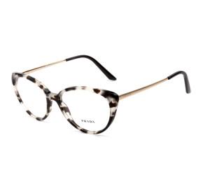 Prada VPR06W Mesclado UA0-1O1 53mm - Óculos de Grau