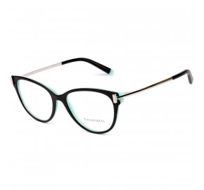 Tiffany TF2193 Preto Brilho 8055 53mm - Óculos de Grau