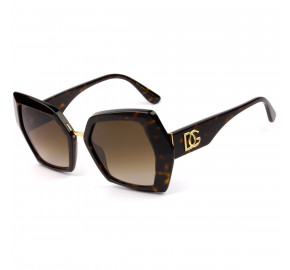 Dolce & Gabbana DG4377 Turtle/Marrom 502/13 54mm - Óculos de Sol