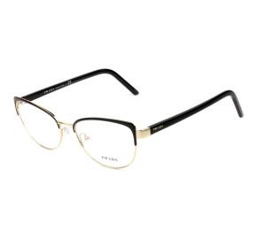 Prada VPR63X Preto AAV-1O1 53mm - Óculos de Grau