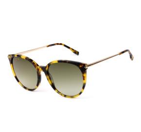 Lacoste L928S Turtle/Verde Degradê 214 56mm - Óculos de Sol