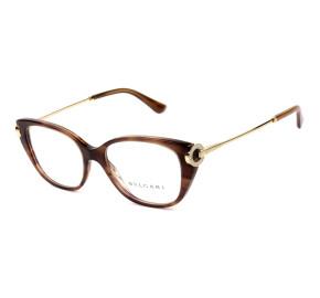 Bvlgari 4189-B Turtle 5240 54mm - Óculos de Grau