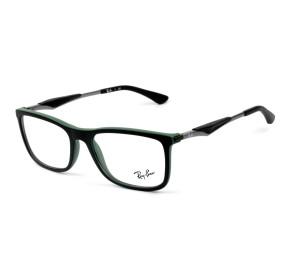 Ray Ban RB7029 Preto 5197 55mm - Óculos de Grau