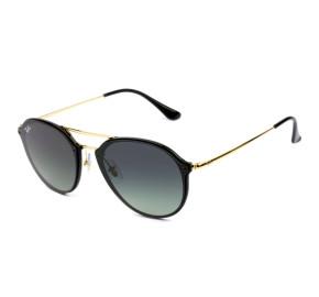 Ray Ban Blaze RB4292-N Preto/Cinza Degradê 601/11 61mm - Óculos de Sol