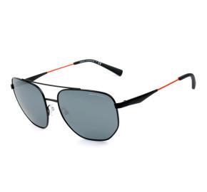 Armani Exchange AX2033S Preto/Cinza Espelhado 6063/6G 59mm - Óculos de Sol