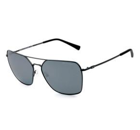 Armani Exchange AX2029S Preto/Cinza Espelhado 6000/6G 60mm - Óculos de Sol