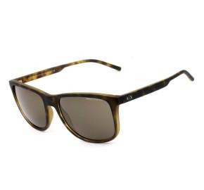 Armani Exchange AX4070S Turtle/Marrom 802973 57mm - Óculos de Sol