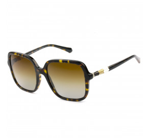 Bvlgari 8228-B Turtle/Marrom Degradê Polarizado 504/T5 57mm - Óculos de Sol