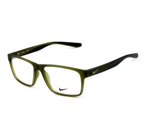 Nike 7127 Verde Fosco/Preto 301 56mm - Óculos de Grau