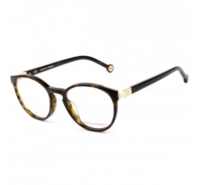 Carolina Herrera VHE875V Turtle 722Y 50mm - Óculos de Grau