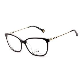 Carolina Herrera VHE852N Preto 0888 54mm - Óculos de Grau