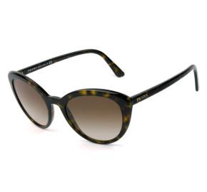 Prada SPR02V Turtle /Marrom Degradê 2AU-6S1  54mm - Óculos de Sol