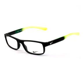 Nike Live Free 7090 Preto Fosco/Verde 012 53mm - Óculos de Grau