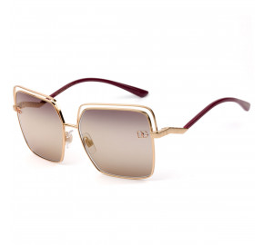 Dolce & Gabbana DG2268 - Bronze/Marrom 1298/AQ 59mm - Óculos de Sol