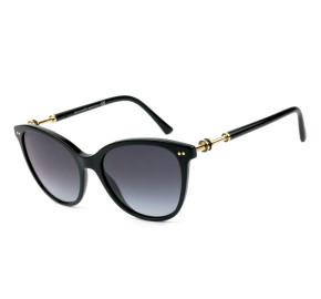 Bvlgari 8235 Preto/Cinza Degradê 501/8G 55mm - Óculos de Sol