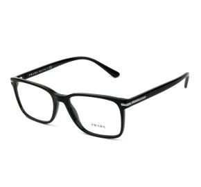 Prada VPR014W Preto Brilho 1AB-1O1 56mm - Óculos de Grau
