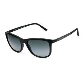 Giorgio Armani  AR8087 Preto Fosco/Cinza Degradê Polarizado 5042/T3 56mm - Óculos de Sol