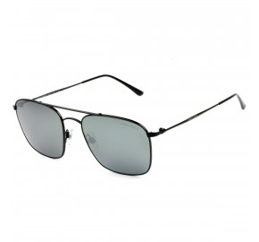 Giorgio Armani Ar6080 Preto/Cinza Espelhado 3001/6G 55mm - Óculos de Sol