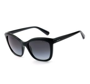 Ralph Lauren RA5252 Preto/Cinza Degradê 5752/8G 55mm - Óculos de Sol