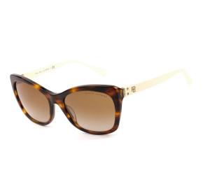 Ralph Lauren RL8192 Turtle/Marrom Degradê 5007/13 56mm - Óculos de Sol