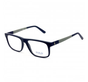 Polo Ralph Lauren PH2218 Azul Marinho Fosco 5528 56mm - Óculos de Grau