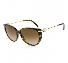 Tiffany & Co. TF4178 Turtle /Marrom Degradê 8015/3B 57mm - Óculos de Sol