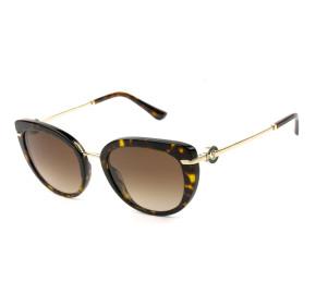 Bvlgari 8231-B Turtle/Marrom Degradê 504/13 54mm - Óculos de Sol