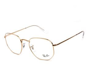 Ray Ban Hexagonal RB6448 Rose 3094 54mm - Óculos de Grau
