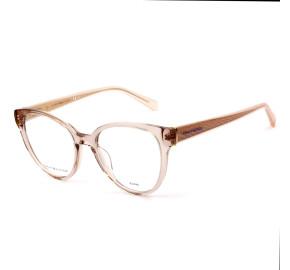 Tommy Hilfiger TH1842 Rose Translucido 35J 51mm - Óculos de Grau