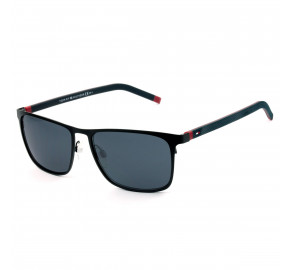 Tommy Hilfiger TH1716/S - Azul Fosco/Cinza WIRIR 57mm - Óculos de Sol
