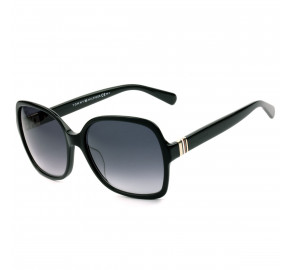 Tommy Hilfiger TH1765/S Preto/Cinza Degradê 8079O 58mm - Óculos de Sol
