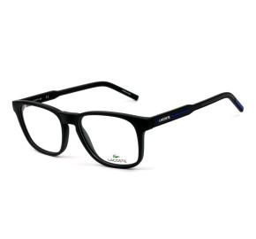 Lacoste L2865 Preto Fosco 004 53mm - Óculos de Grau