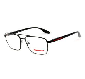 Prada Linea Rossa VPS53M Preto Fosco 1BO-1O1 55mm - Óculos de Grau