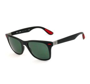 Ray Ban Ferrari RB4195-M Preto Fosco/G15 F602/71 52mm - Óculos de Sol