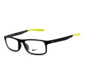 Nike Live Free 7119 Preto Fosco/Verde 037 53mm - Óculos de Grau