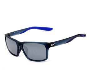 Nike Maverick RGE DC3297 Azul Fosco/ Cinza Semi-Espelhado 410 59mm - Óculos de Sol
