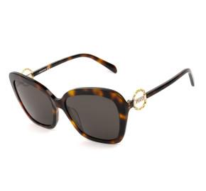 Emilio Pucci EP 165 - Turtle/Marrom 52E 58mm - Óculos de Sol