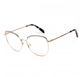 Emilio Pucci EP 5168 Dourado/Azul 092 56mm - Óculos de Grau
