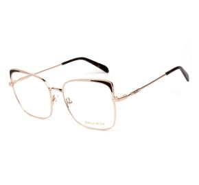 Emilio Pucci EP 5125 Dourado/Preto 028 55mm - Óculos de Grau