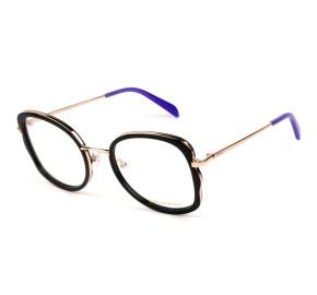 Emilio Pucci EP5181 Preto 005 52mm - Óculos de Grau