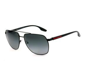 Prada Linea Rossa SPS55V Preto/Cinza Degradê Polarizado 1BO-5W1 62mm - Óculos de Sol